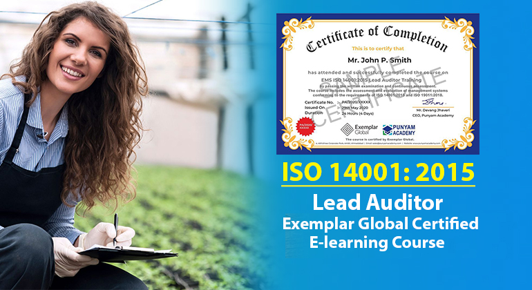 EMS ISO 14001:2015 Lead Auditor Training