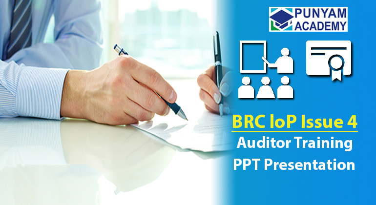 BRC Packaging Issue 4 Awareness and Auditor Training Kit