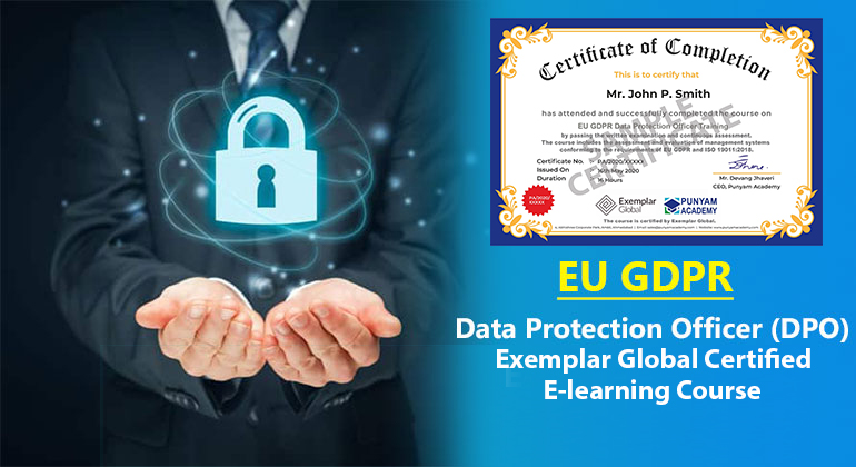 EU GDPR Data Protection Officer Training