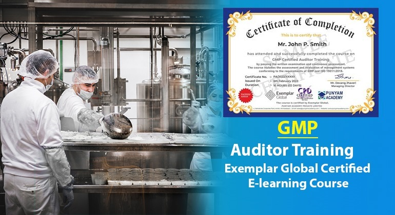 GMP Certified Auditor Training