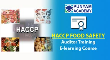HACCP Certified Auditor Training - Online Course