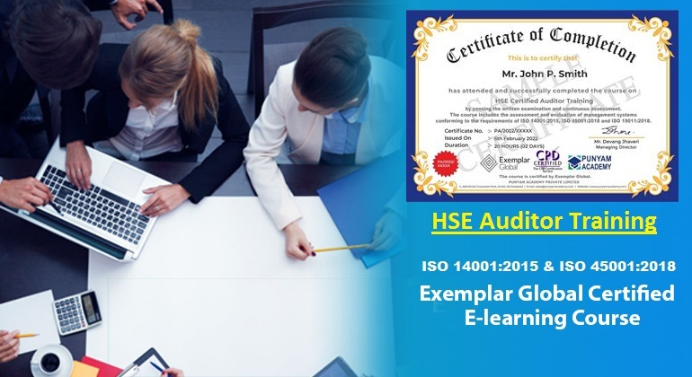 HSE Certified Auditor Training