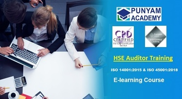 HSE Certified Internal Auditor for ISO 14001 and ISO 45001