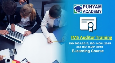 IMS Certified Auditor for ISO 9001, ISO 14001, ISO 45001