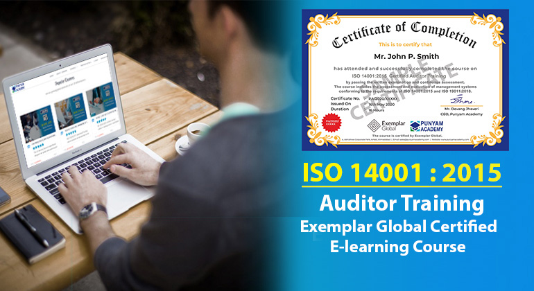 ISO 14001:2015 Certified Auditor Training