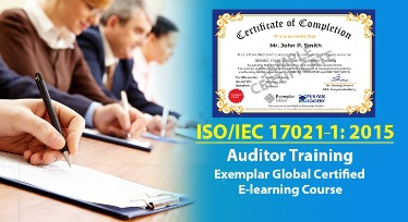 ISO/IEC 17021-1:2015 Certified Auditor Training