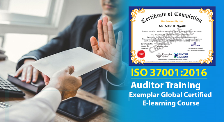 ISO 37001:2016 Certified Auditor Training
