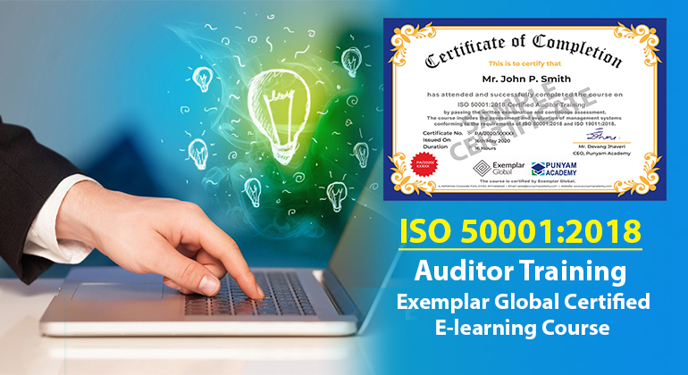 ISO 50001 Certified Internal Auditor Training