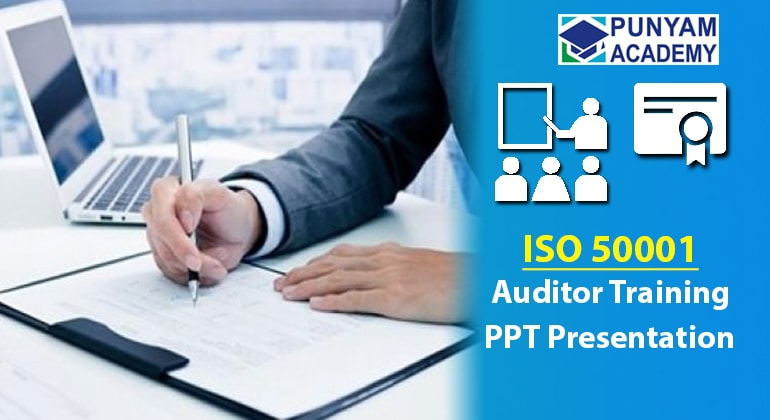 ISO 50001 Awareness and Auditor Training Kit