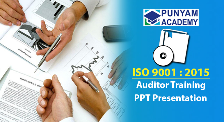 ISO 9001:2015 Auditor Training PPT Presentation Kit