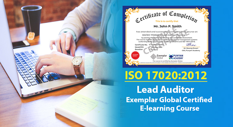 ISO/IEC 17020:2012 Lead Auditor Training