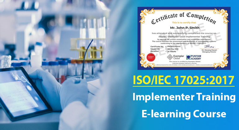 ISO/IEC 17025:2017 Lead Implementer Training