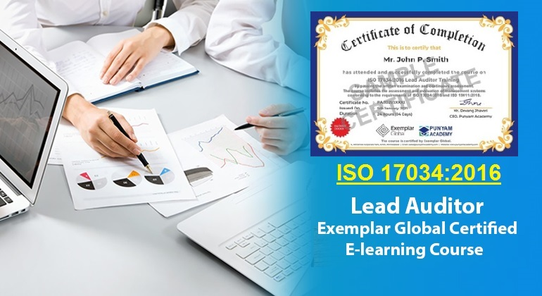 ISO 17034 Lead Auditor - Online Course