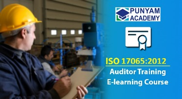 ISO/IEC 17065 Certified Auditor Training