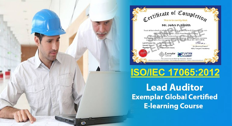 ISO 17065 Lead Auditor - Online Course