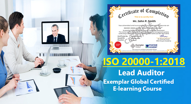ISO/IEC 20000-1:2018 Lead Auditor Training