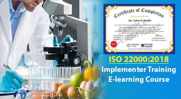 ISO 22000:2018 Lead Implementer Training