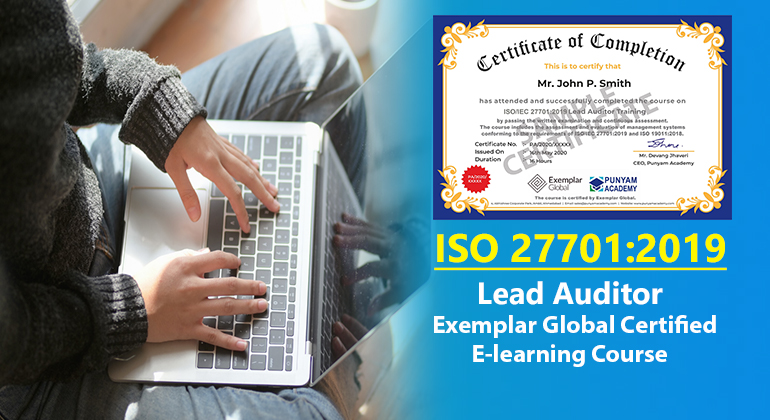 ISO/IEC 27701:2019 Lead Auditor Training