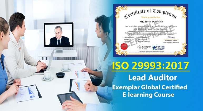 ISO 29993 Lead Auditor - Online Course