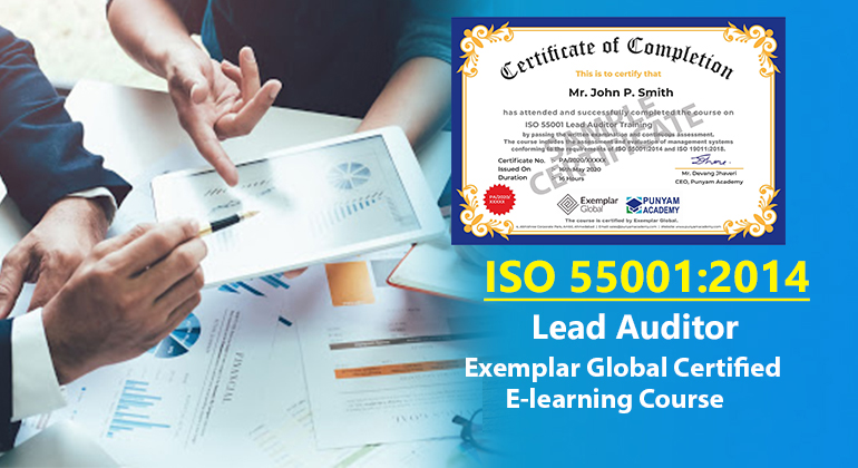 ISO 55001:2014 Lead Auditor Training