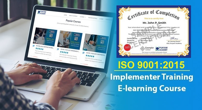 ISO 9001:2015 QMS Lead Implementer Training
