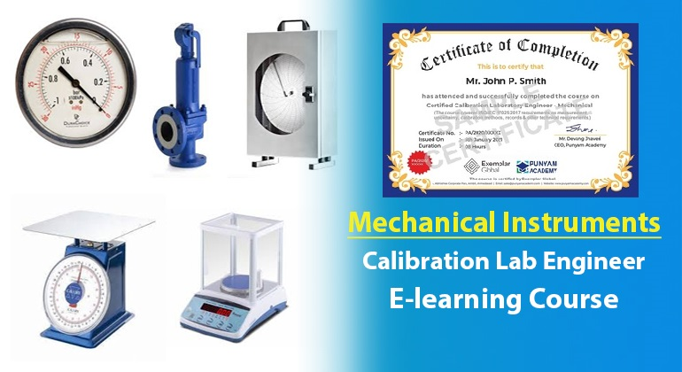 Certified Calibration Lab Engineer - Mechanical