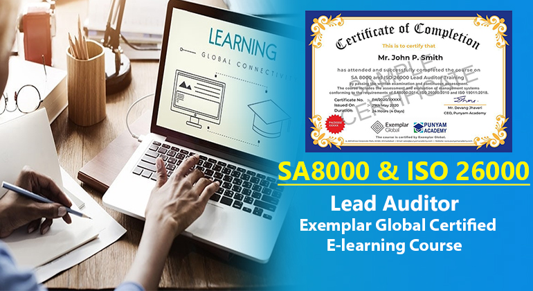 SA 8000 and ISO 26000 Lead Auditor Training