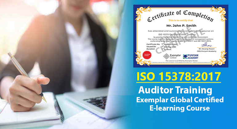 ISO 15378 Certified Auditor Training