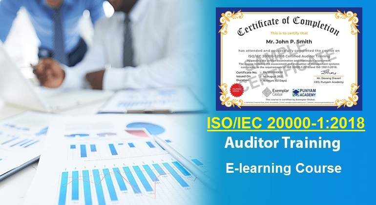 ISO 20000 Internal Auditor Training - Online Course
