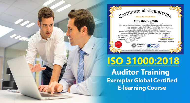 ISO 31000 Certified Risk Management Auditor Training